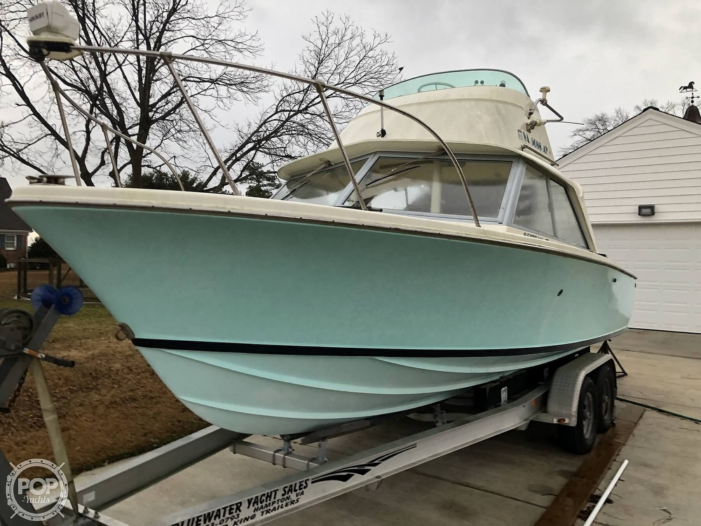 1971 Bertram boat for sale, model of the boat is Flybridge & Image # 2 of 40