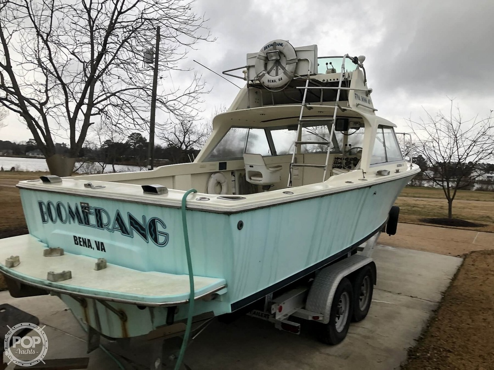 1971 Bertram boat for sale, model of the boat is Flybridge & Image # 5 of 40