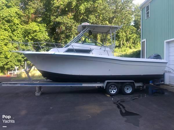 1990 Grady-White boat for sale, model of the boat is Sailfish Sport Bridge 255 & Image # 3 of 40