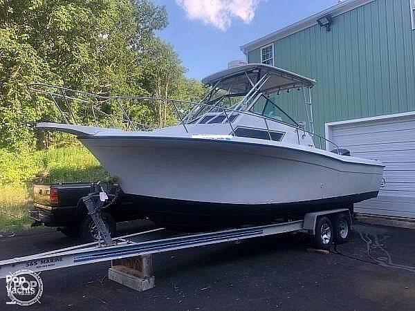 1990 Grady-White boat for sale, model of the boat is Sailfish Sport Bridge 255 & Image # 4 of 40