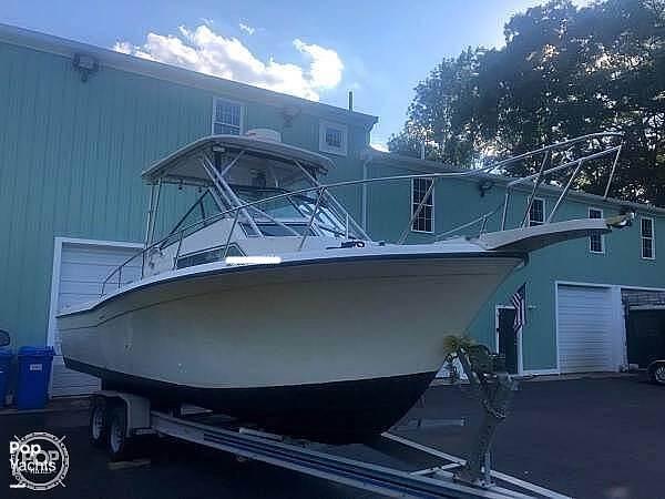 1990 Grady-White boat for sale, model of the boat is Sailfish Sport Bridge 255 & Image # 2 of 40