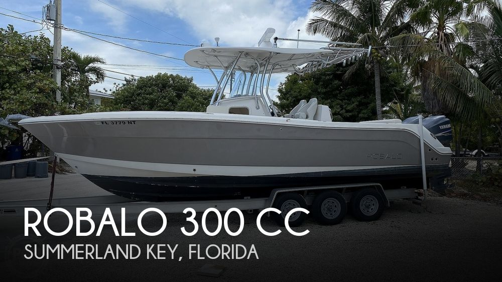 2008 Robalo boat for sale, model of the boat is 300 CC & Image # 1 of 40