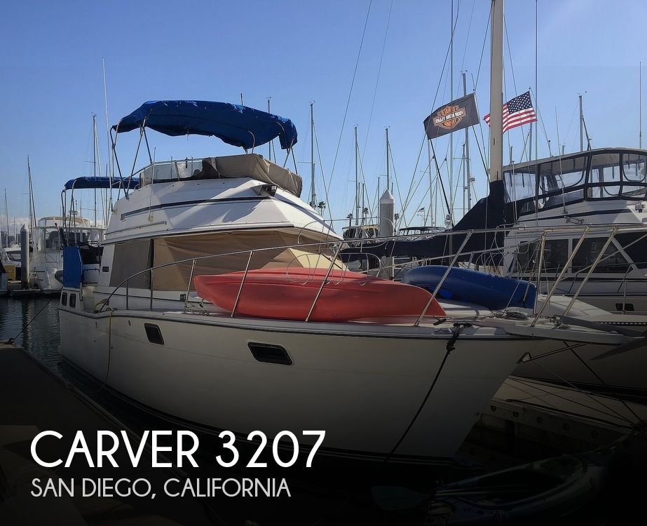 Used Carver 3207 Boats For Sale by owner   1984 Carver 3207 Aft Cabin