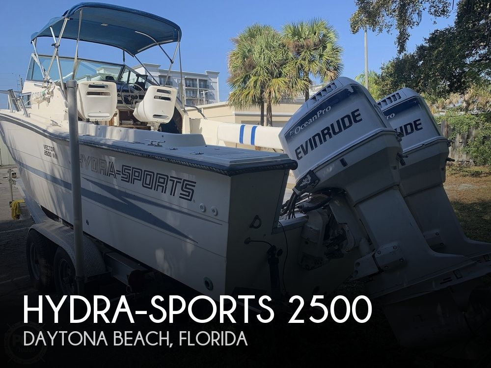 1989 Hydra-Sports boat for sale, model of the boat is Vector 2500WA & Image # 1 of 40