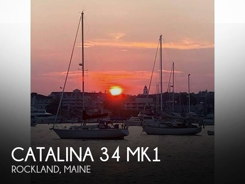 1987 Catalina Yachts boat for sale, model of the boat is 34 Mk1 & Image # 1 of 1