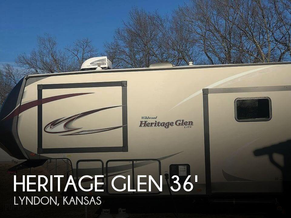 2018 Forest River Heritage Glen 368RLBHK