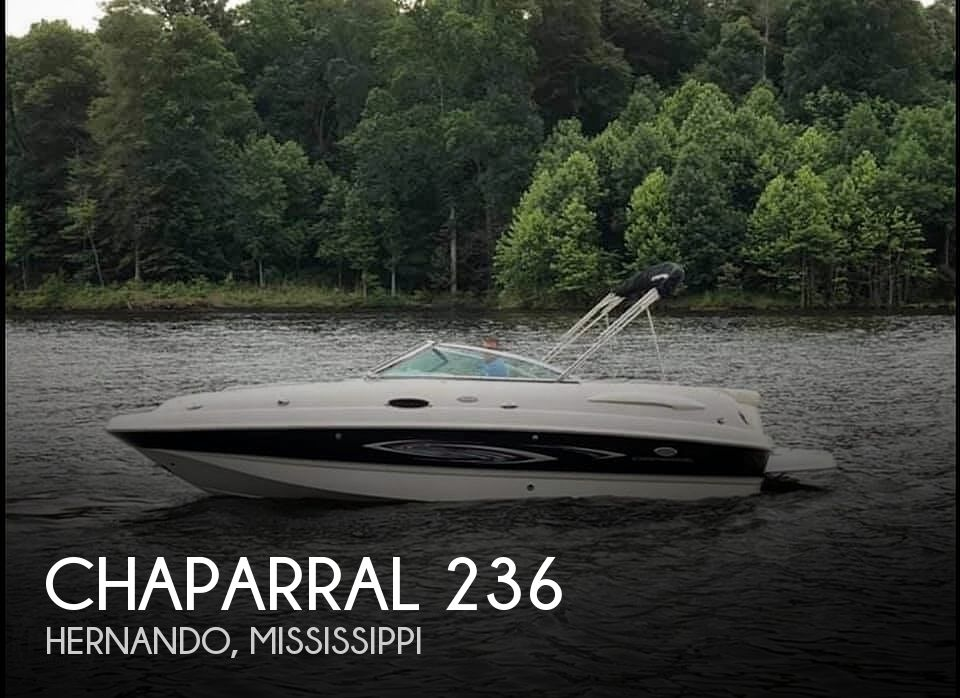 Used Boats For Sale in Memphis, Tennessee by owner | 2006 Chaparral Sunseta 236