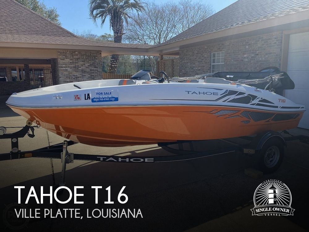 2019 Tahoe boat for sale, model of the boat is T16 & Image # 1 of 41