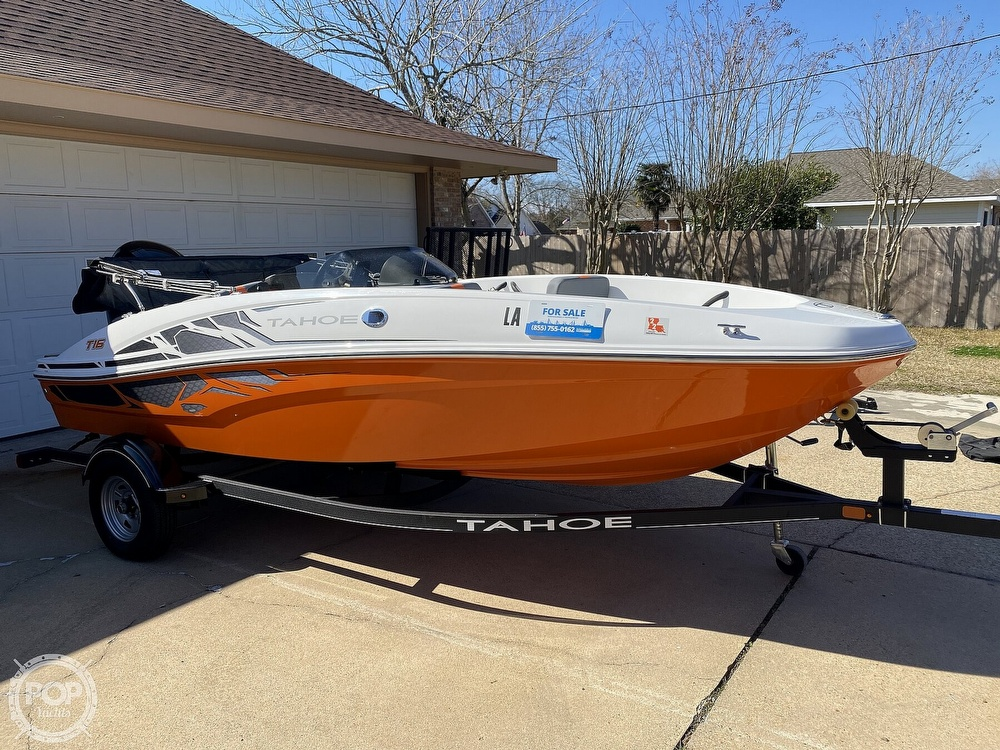 2019 Tahoe boat for sale, model of the boat is T16 & Image # 2 of 41