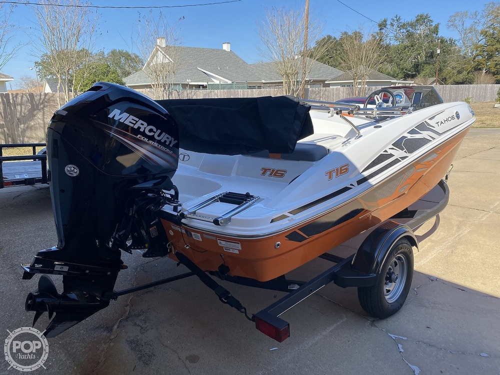 2019 Tahoe boat for sale, model of the boat is T16 & Image # 7 of 41
