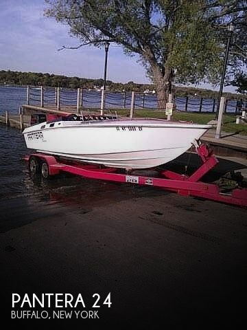 Used Pantera Boats For Sale by owner | 1978 Pantera 24