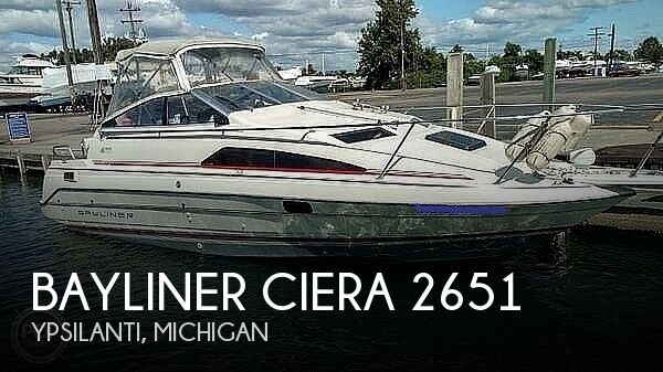 1990 Bayliner boat for sale, model of the boat is Ciera 2651 & Image # 1 of 12