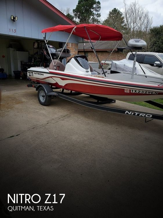 Used NITRO Boats For Sale in Texas by owner | 2017 Nitro Z17