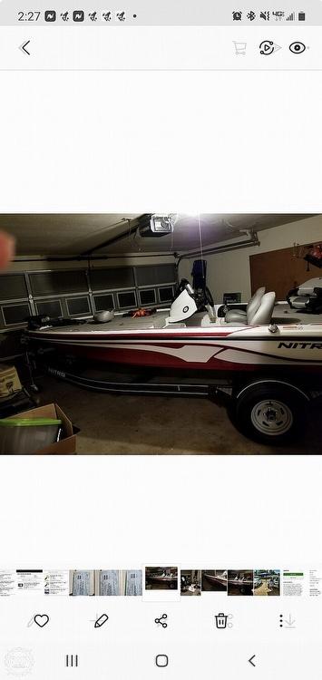 2017 Nitro boat for sale, model of the boat is Z17 & Image # 5 of 12