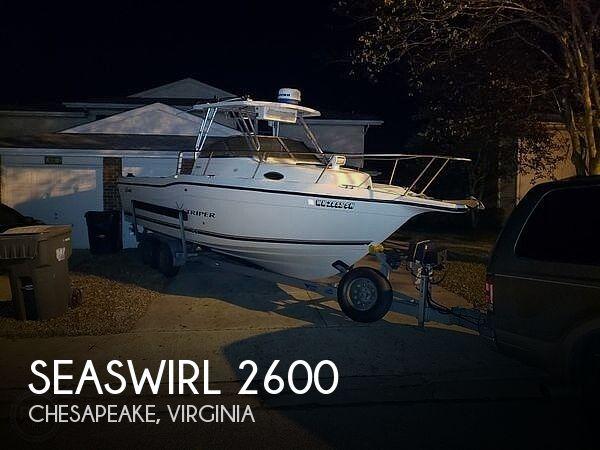 Used SEASWIRL Boats For Sale by owner   2001 26 foot Seaswirl Striper