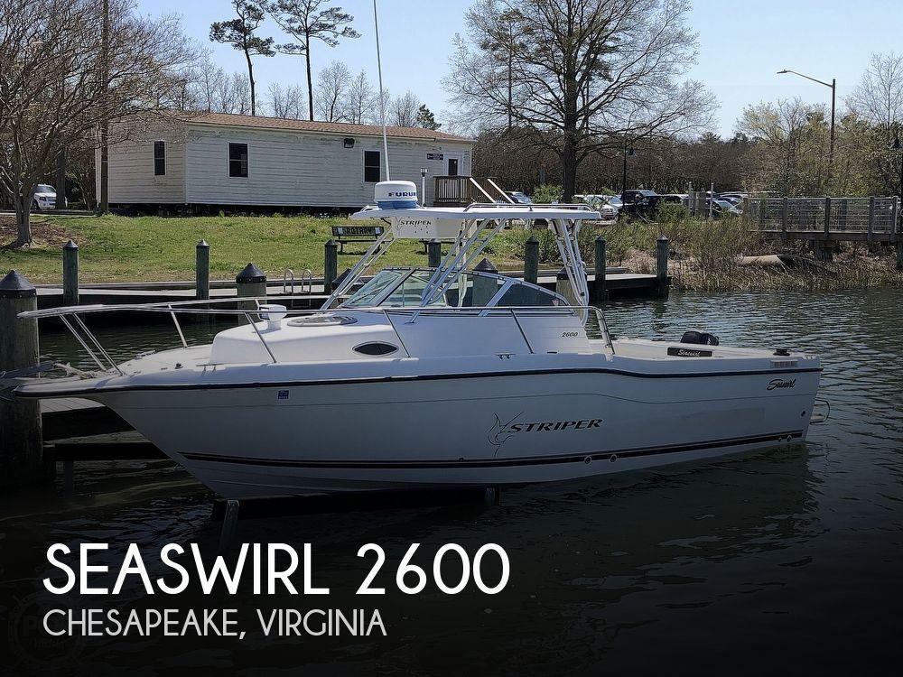 2001 Seaswirl boat for sale, model of the boat is 2600 Striper & Image # 1 of 40