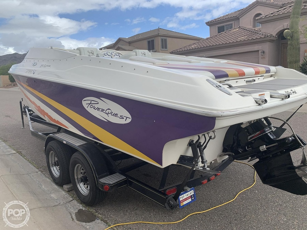 2002 Powerquest boat for sale, model of the boat is 280 Silencer & Image # 14 of 40