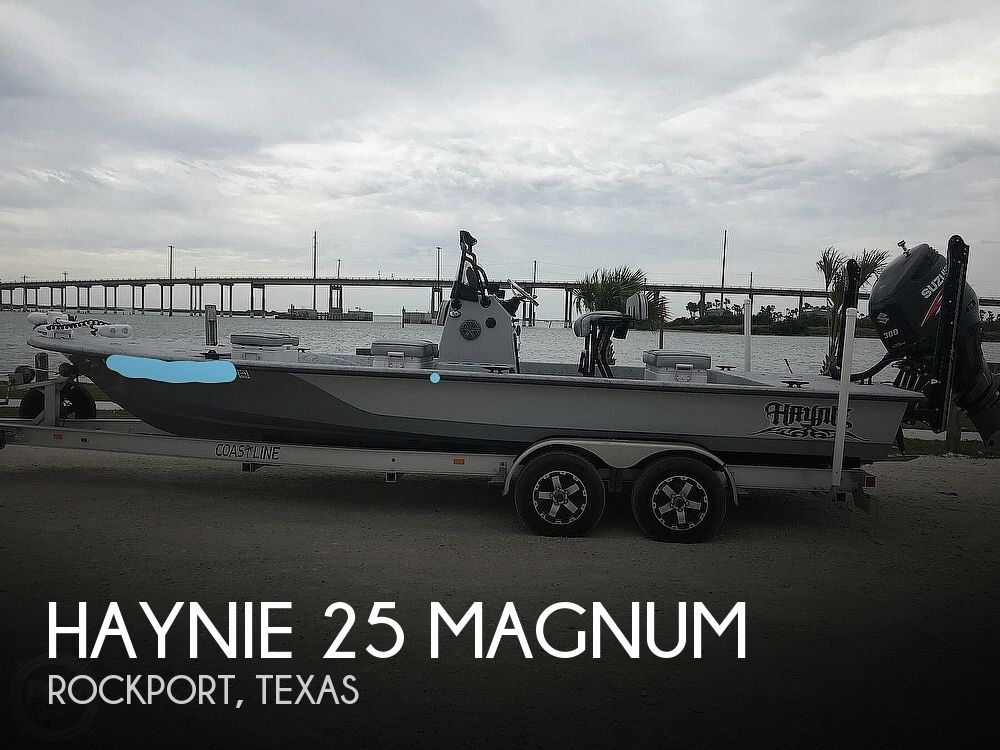 2016 Haynie boat for sale, model of the boat is 25 Magnum & Image # 1 of 40