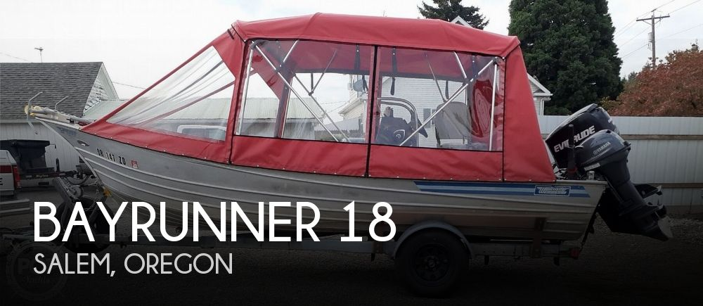 1985 Bayrunner boat for sale, model of the boat is Westcoaster 18 & Image # 1 of 2