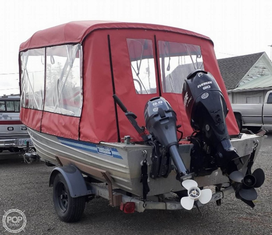 1985 Bayrunner boat for sale, model of the boat is Westcoaster 18 & Image # 2 of 2