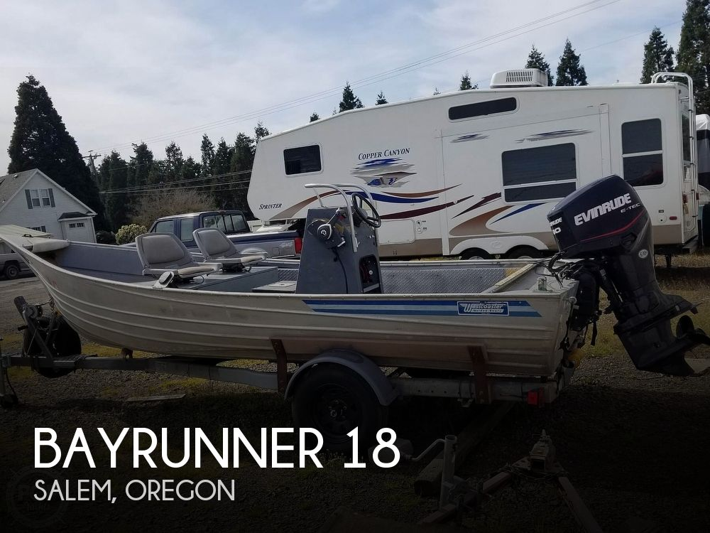 1985 Bayrunner boat for sale, model of the boat is Westcoaster BR-18 & Image # 1 of 6
