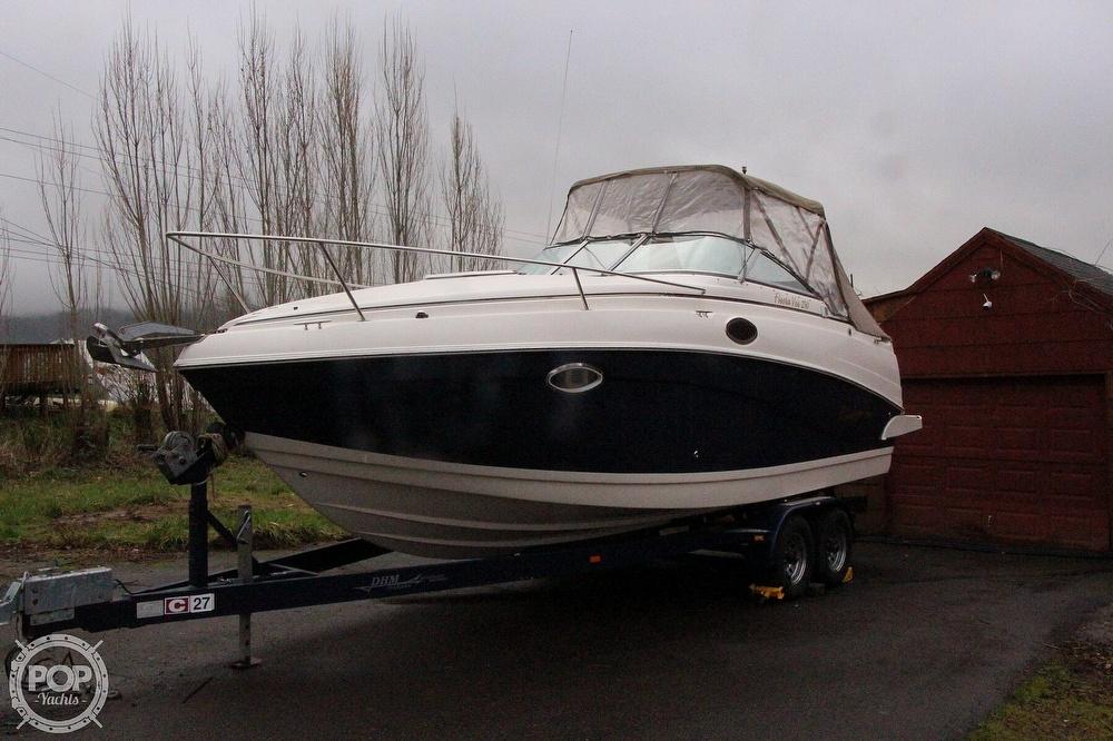 2005 Rinker boat for sale, model of the boat is 250 Fiesta Vee & Image # 3 of 40