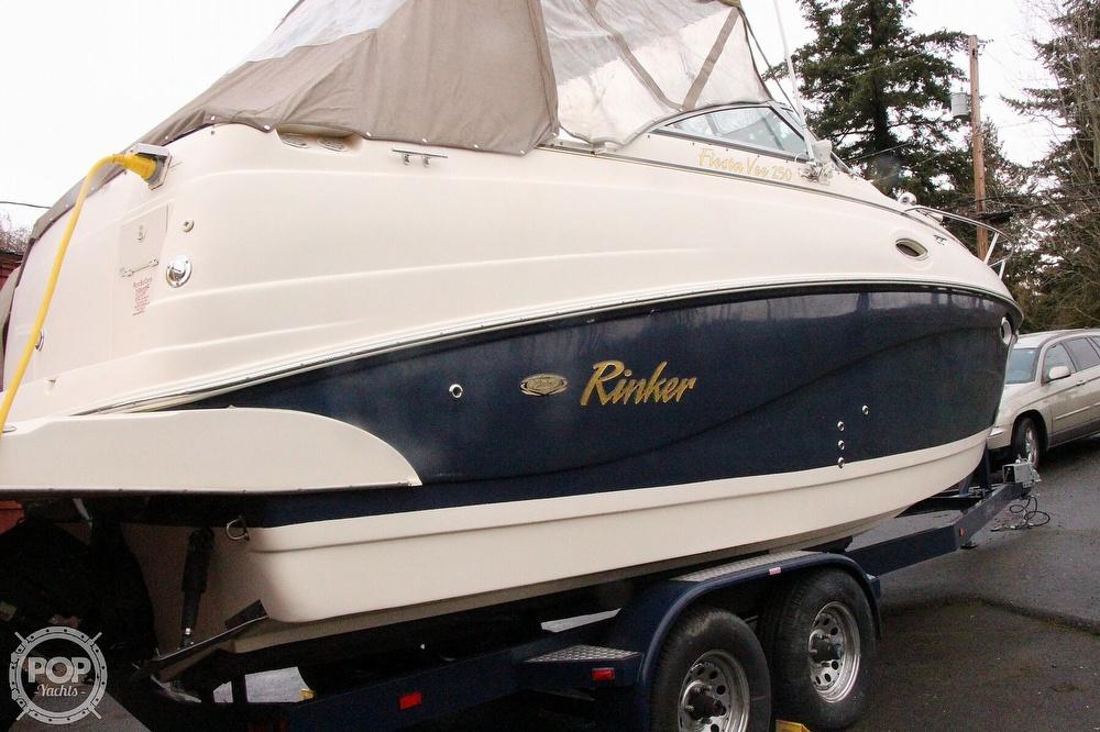2005 Rinker boat for sale, model of the boat is 250 Fiesta Vee & Image # 18 of 40
