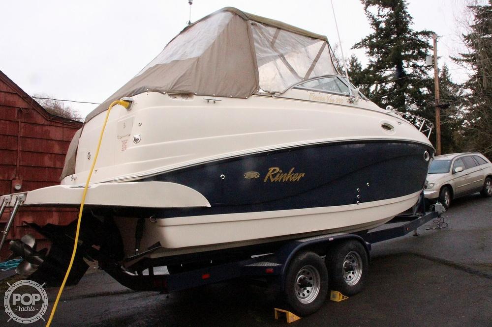 2005 Rinker boat for sale, model of the boat is 250 Fiesta Vee & Image # 19 of 40