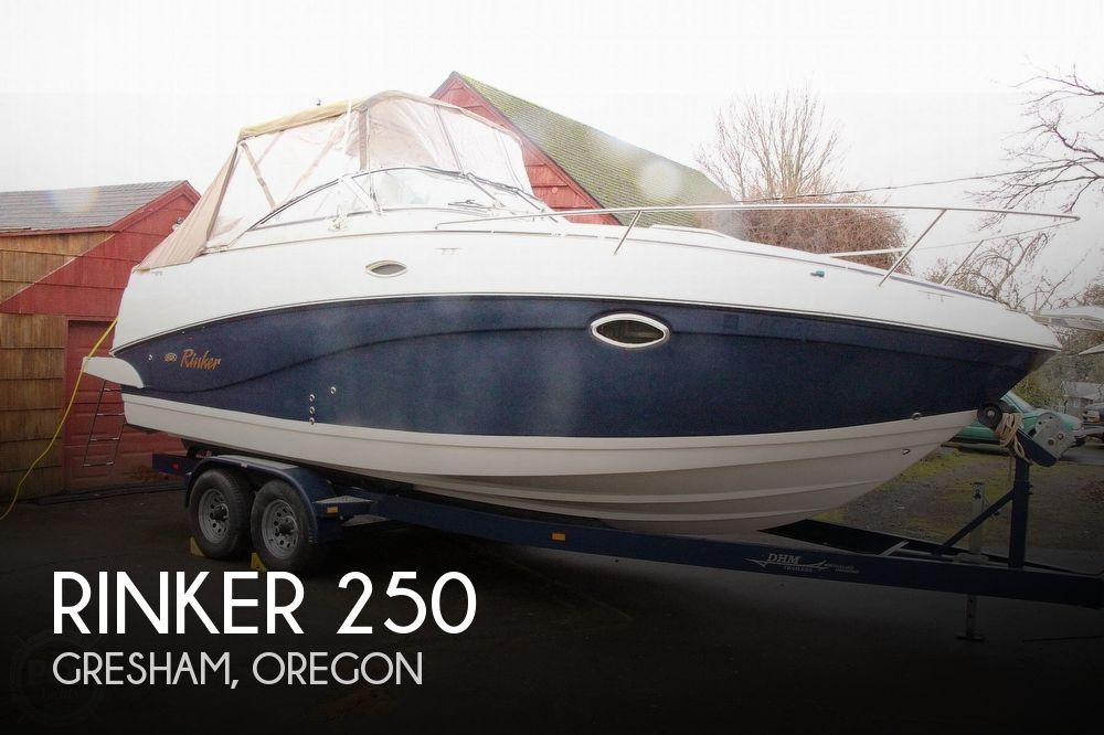 2005 Rinker boat for sale, model of the boat is 250 Fiesta Vee & Image # 1 of 40