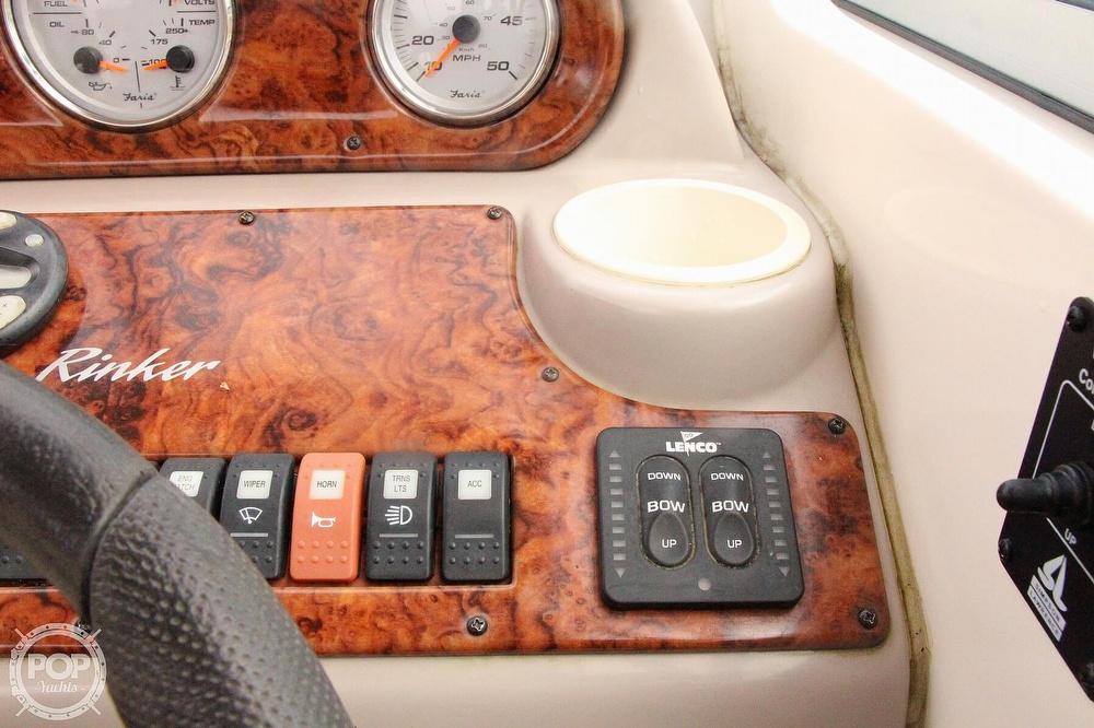 2005 Rinker boat for sale, model of the boat is 250 Fiesta Vee & Image # 36 of 40
