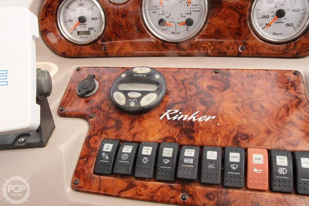 2005 Rinker boat for sale, model of the boat is 250 Fiesta Vee & Image # 37 of 40