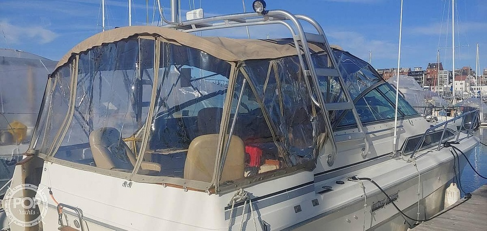 1983 Sea Ray boat for sale, model of the boat is 340 Express Cruiser & Image # 5 of 22