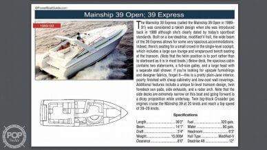 1990 Mainship 39 Open - #10