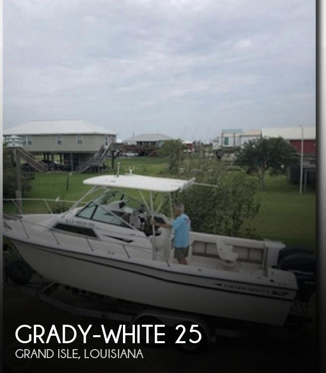 Used Grady-White Boats For Sale in Louisiana by owner | 1986 25 foot Grady-White Sailfish