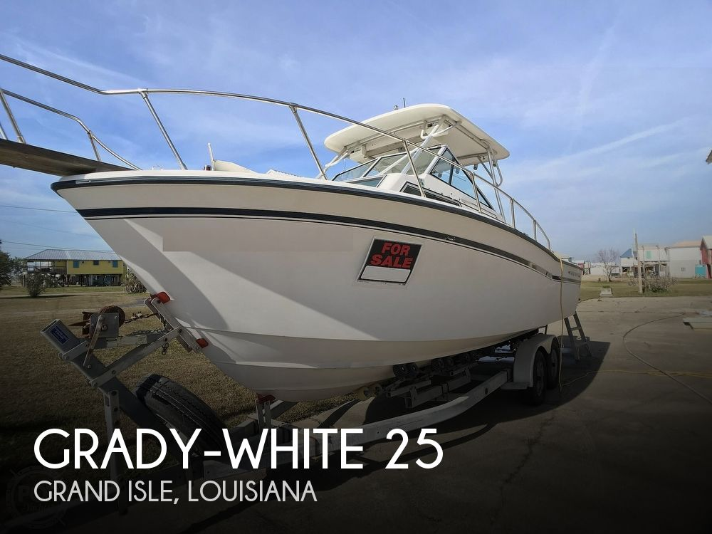 1986 Grady-White boat for sale, model of the boat is Sailfish 25 & Image # 1 of 40
