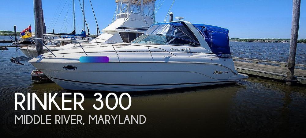 2006 Rinker boat for sale, model of the boat is 300 Fiesta Vee & Image # 1 of 40