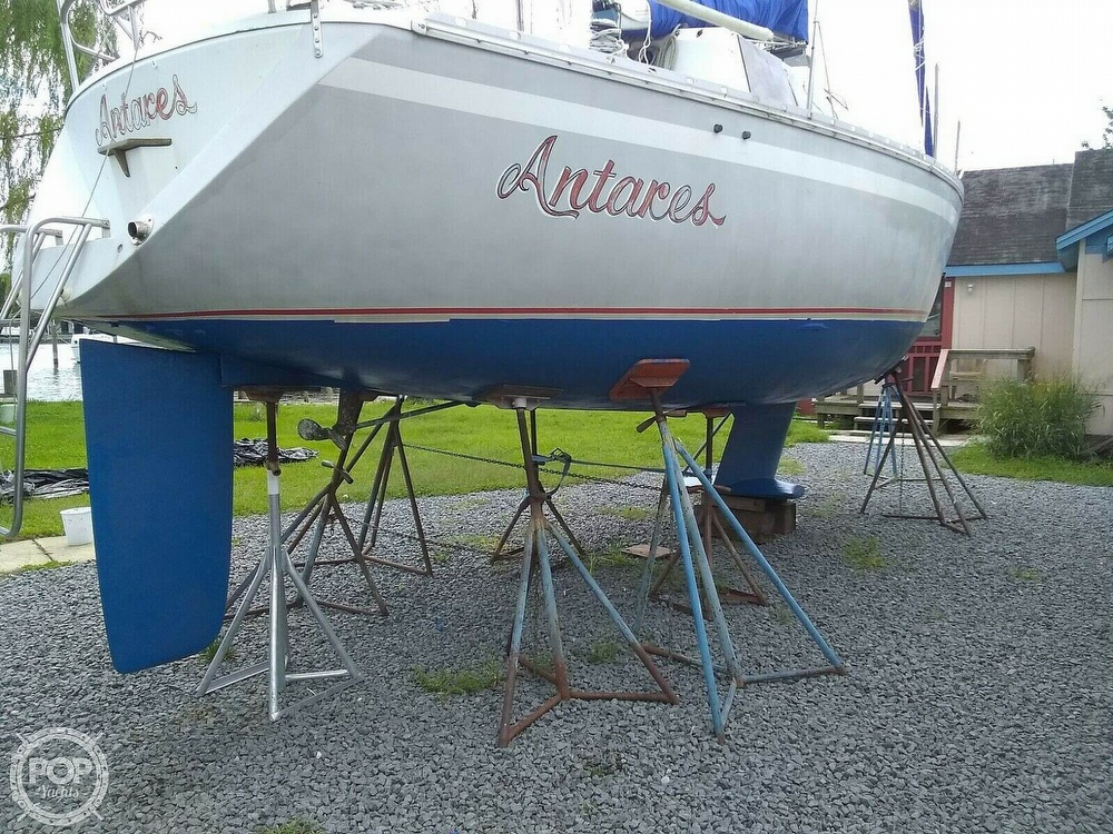 1987 O'day boat for sale, model of the boat is 302 & Image # 6 of 40