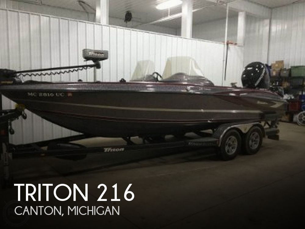 Used Triton  Boats For Sale by owner | 2017 Triton 216 Fishunter