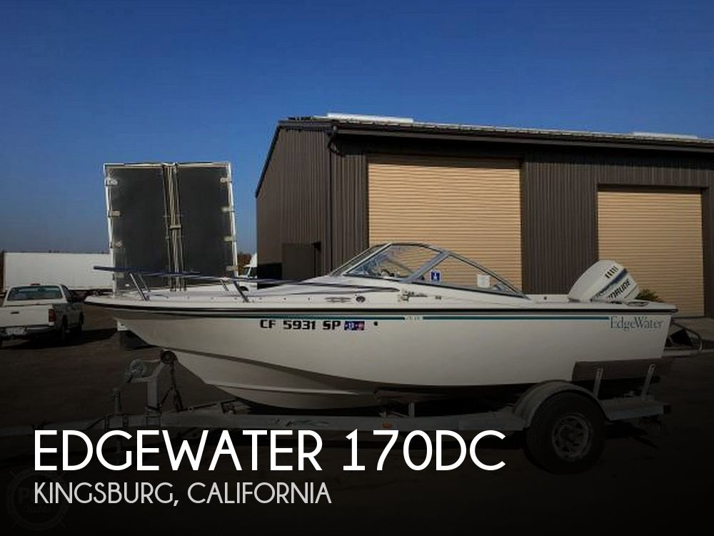 Used Boats For Sale in Visalia, California by owner | 1996 Edgewater 170DC