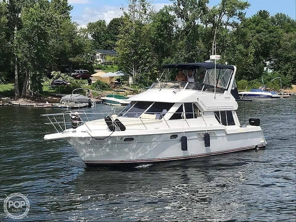 1998 Carver boat for sale, model of the boat is 370 Voyager & Image # 9 of 11