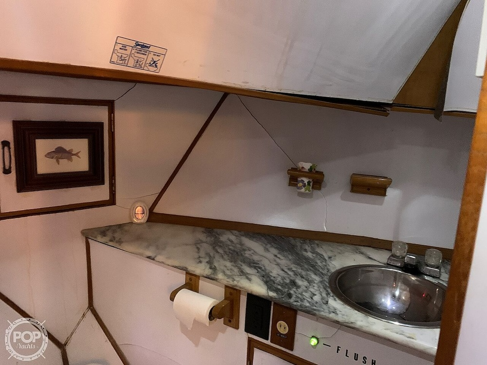 1984 Universal boat for sale, model of the boat is Hampton Bay 39 & Image # 40 of 40