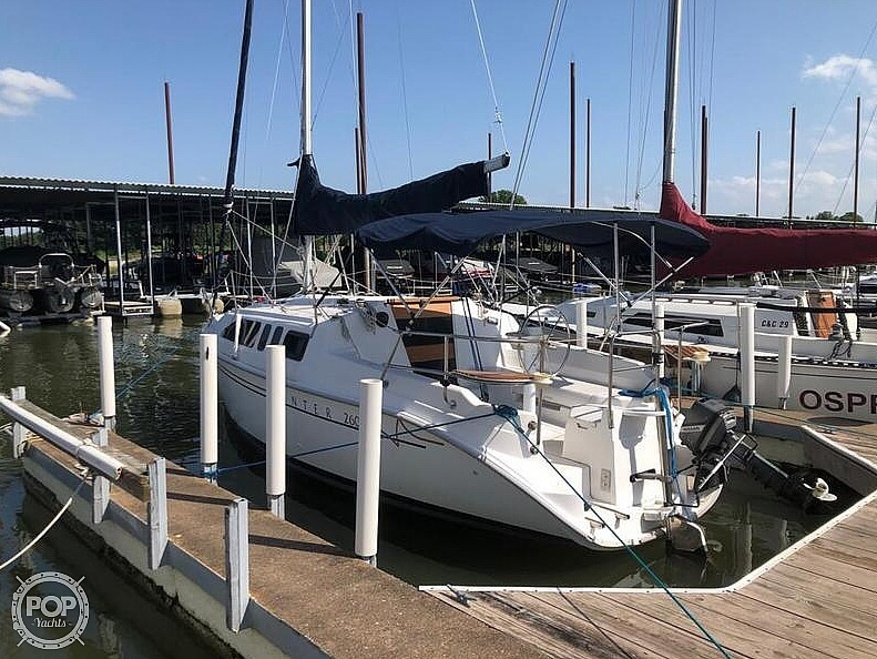 1999 Hunter boat for sale, model of the boat is 260 & Image # 2 of 40