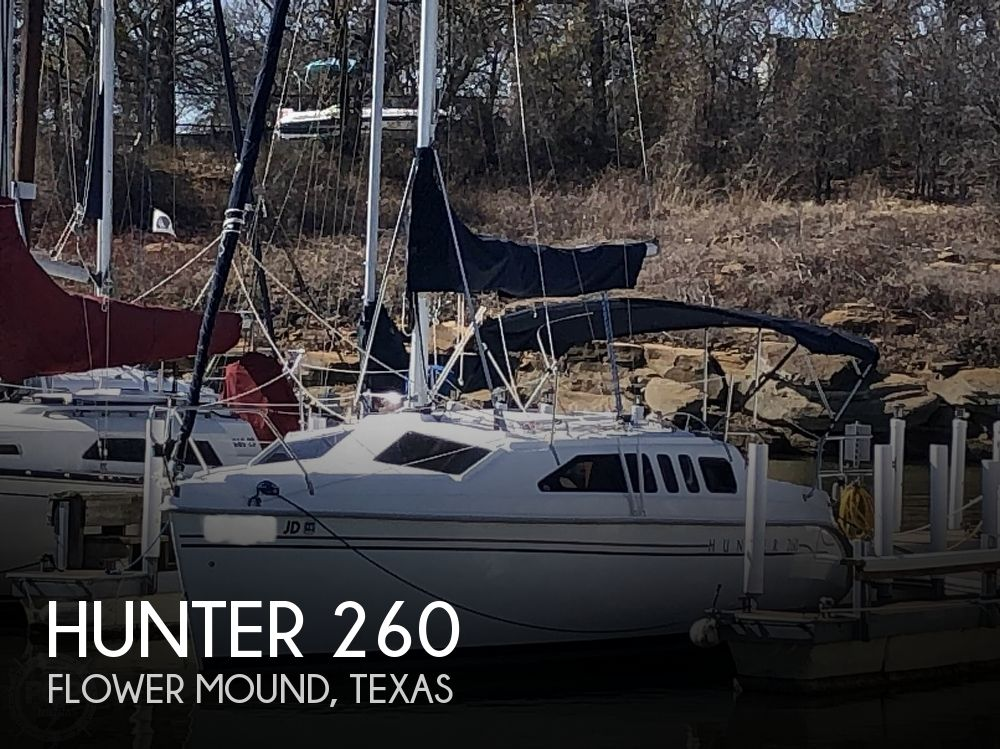 1999 Hunter boat for sale, model of the boat is 260 & Image # 1 of 40