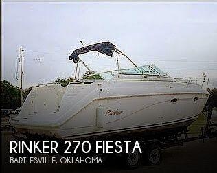 Used Rinker 270 Fiesta Boats For Sale by owner | 1999 Rinker 270 Fiesta