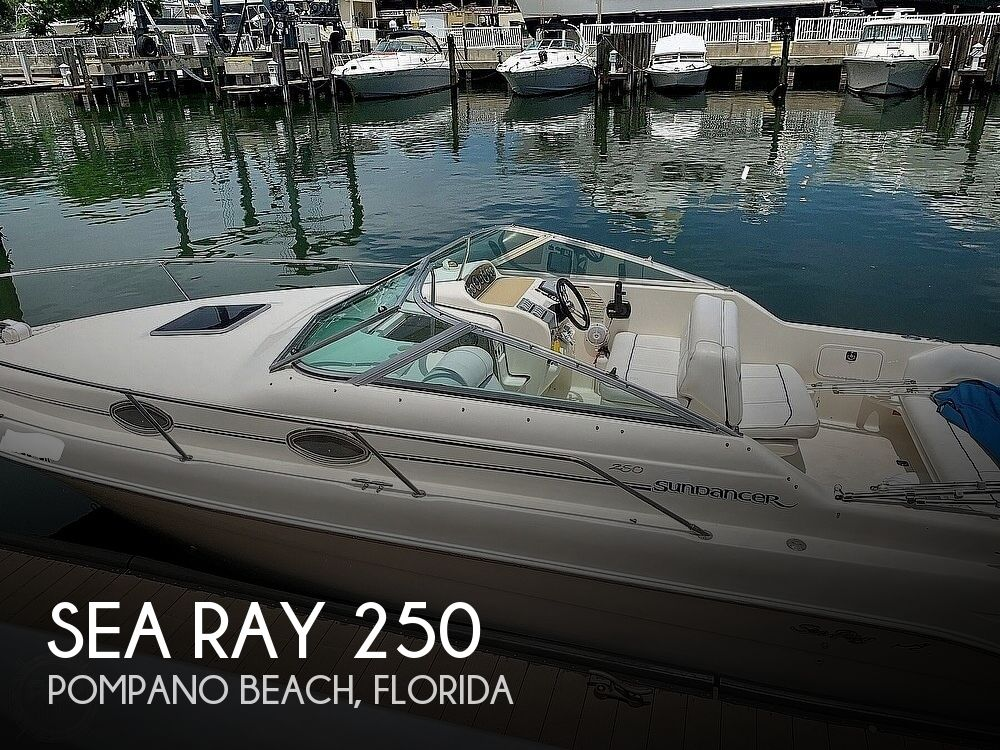 1995 Sea Ray boat for sale, model of the boat is 250 Sundancer & Image # 1 of 40