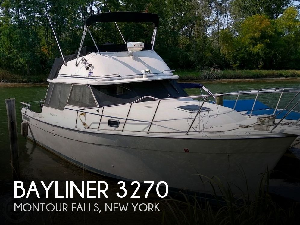 Used Motoryachts For Sale in Binghamton, New York by owner | 1983 Bayliner 3270 Explorer