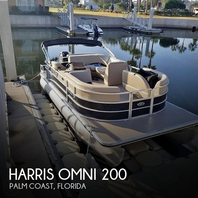 Used Harris Pontoon Boats For Sale by owner | 2015 Harris Omni 200