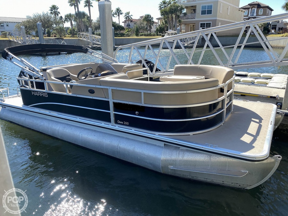 2015 Harris boat for sale, model of the boat is Omni 200 & Image # 3 of 40