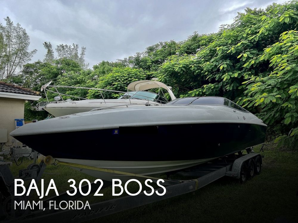 1997 Baja boat for sale, model of the boat is 302 Boss & Image # 1 of 40