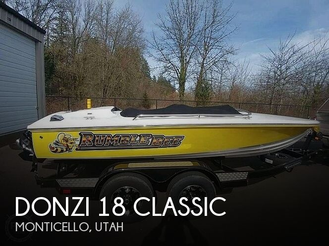 Used Boats For Sale in Utah by owner | 2019 Donzi 18 Classic